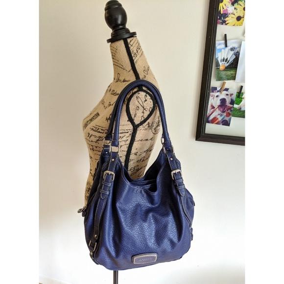 Rosetti Handbags - Pebbled Blue Bag | Rosetti